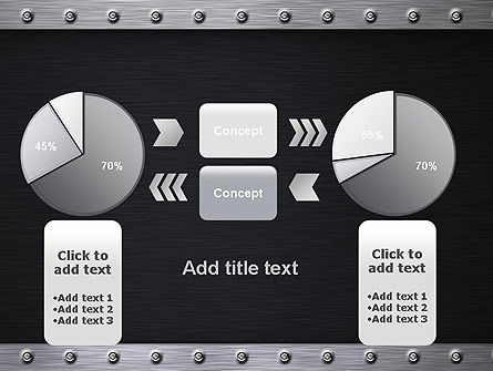 Metal Theme PowerPoint Template Slide 16