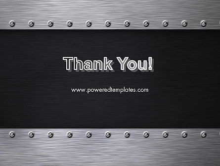 Metal Theme PowerPoint Template Slide 20
