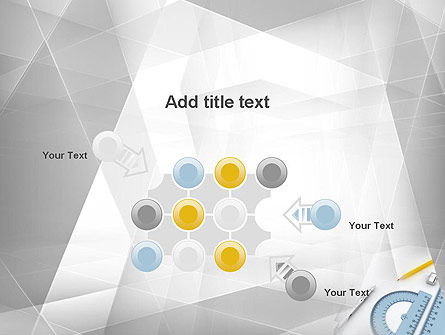 Drafting Tools PowerPoint Template Slide 10