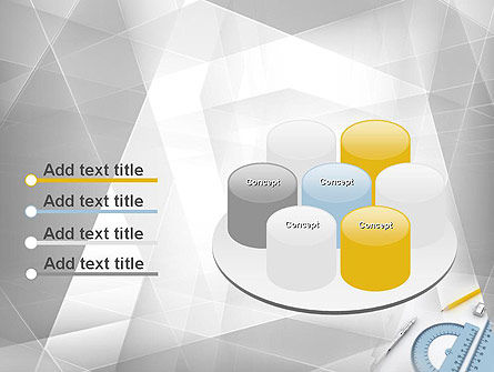 Drafting Tools PowerPoint Template Slide 12