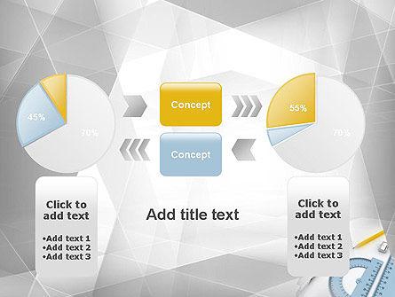 Drafting Tools PowerPoint Template Slide 16