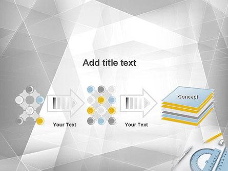 Drafting Tools PowerPoint Template Slide 9