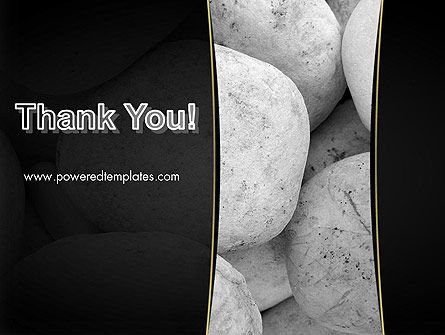 Large White Stones PowerPoint Template Slide 20