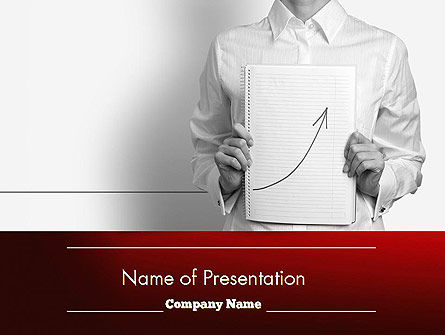 Abstract/Textures: Growing Results PowerPoint Template #11555