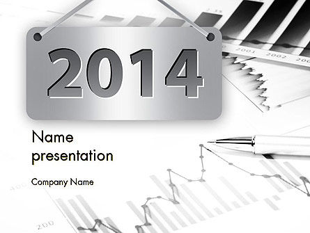 New Financial Year PowerPoint Template