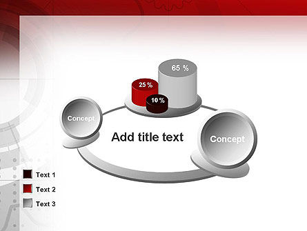 Abstract Gray Hi-Tech PowerPoint Template Slide 16