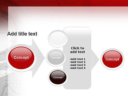 Abstract Gray Hi-Tech PowerPoint Template Slide 17