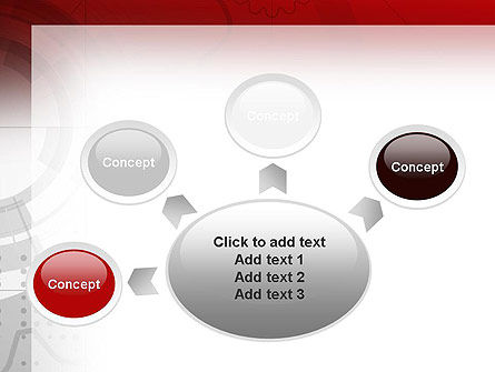 Abstract Gray Hi-Tech PowerPoint Template Slide 7