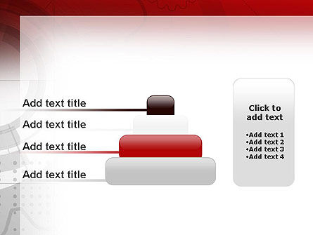 Abstract Gray Hi-Tech PowerPoint Template Slide 8