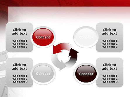 Abstract Gray Hi-Tech PowerPoint Template Slide 9