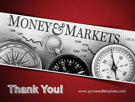 Money and Markets PowerPoint Template Slide 20