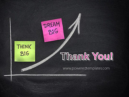 Think Big Dream Big PowerPoint Template Slide 20