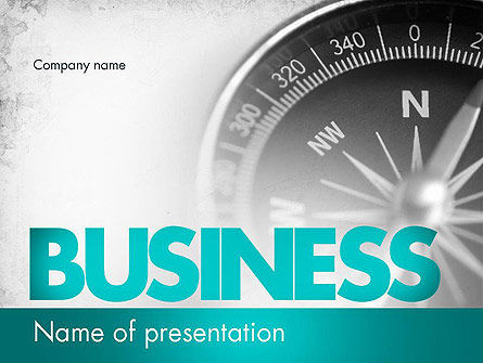Business Navigation Concept PowerPoint Template, 11563, Business Concepts — PoweredTemplate.com