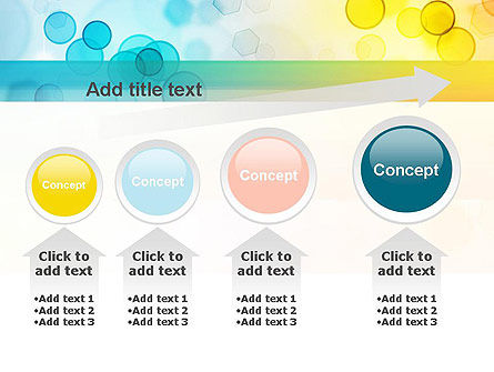 Blurred Lights PowerPoint Template Slide 13