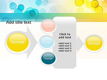 Blurred Lights PowerPoint Template Slide 17