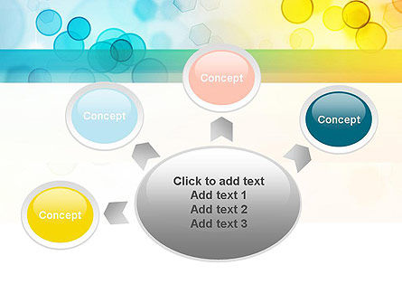 Blurred Lights PowerPoint Template Slide 7