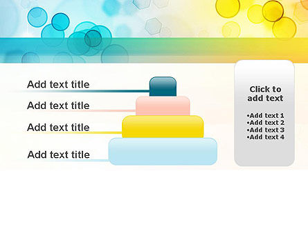 Blurred Lights PowerPoint Template Slide 8
