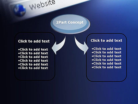 Web Browser PowerPoint Template, Slide 4, 11569, Technology and Science — PoweredTemplate.com
