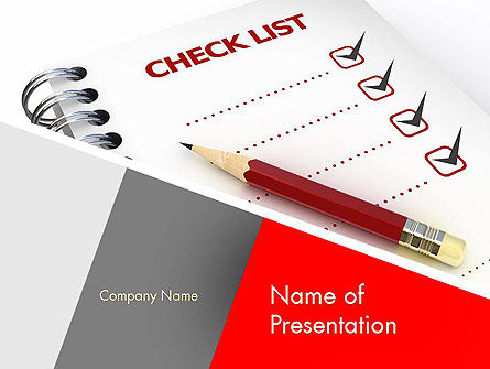 Checklist PowerPoint Template