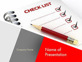 Education & Training: Checklist PowerPoint Template #11574
