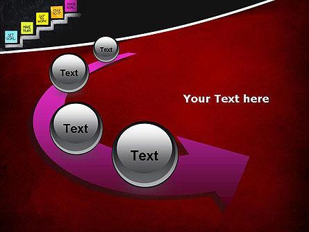 Goal Setting PowerPoint Template Slide 6