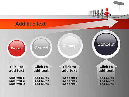 Teamleader PowerPoint Template Slide 13