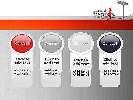 Teamleader PowerPoint Template Slide 5