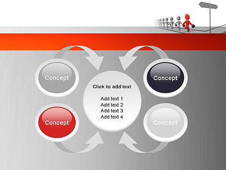 Teamleader PowerPoint Template Slide 6