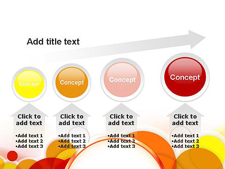 Bright Circles PowerPoint Template Slide 13