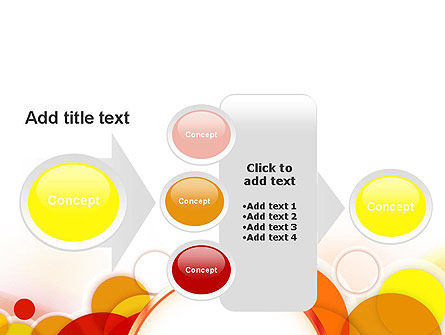 Bright Circles PowerPoint Template Slide 17