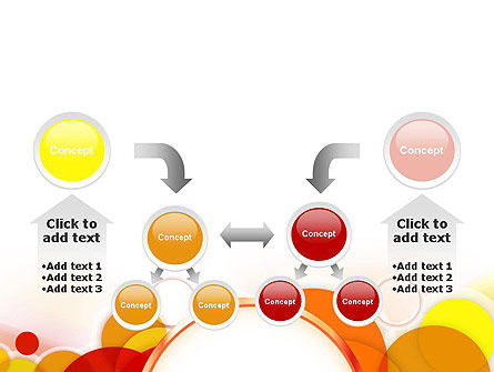 Bright Circles PowerPoint Template Slide 19