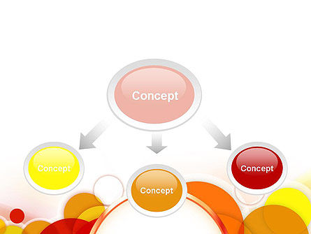 Bright Circles PowerPoint Template Slide 4