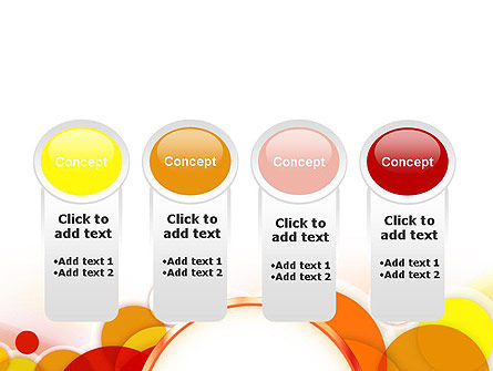 Bright Circles PowerPoint Template Slide 5