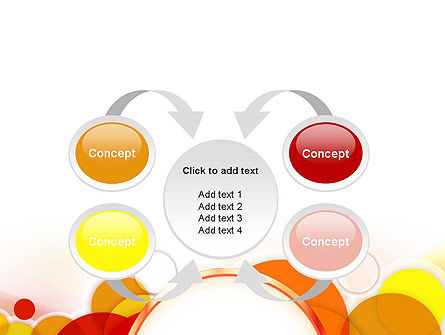 Bright Circles PowerPoint Template Slide 6