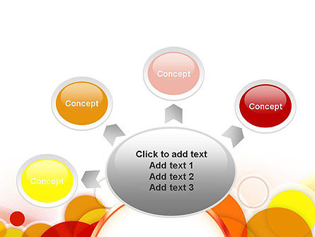 Bright Circles PowerPoint Template Slide 7