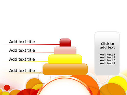Bright Circles PowerPoint Template Slide 8