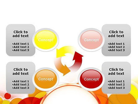 Bright Circles PowerPoint Template Slide 9