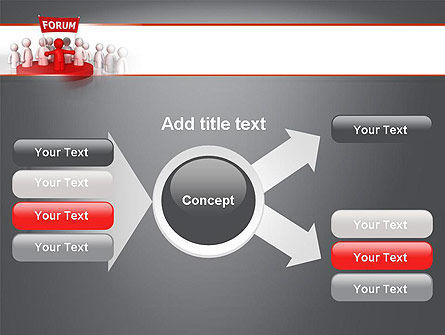 Forum PowerPoint Template Slide 14