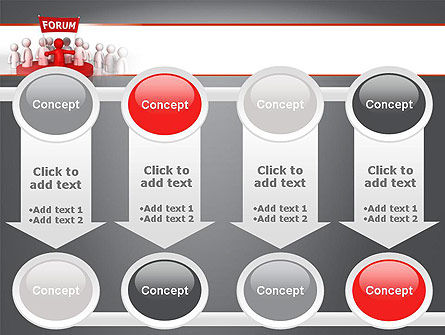 Forum PowerPoint Template Slide 18