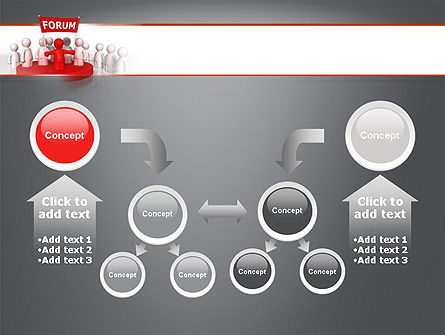 Forum PowerPoint Template Slide 19