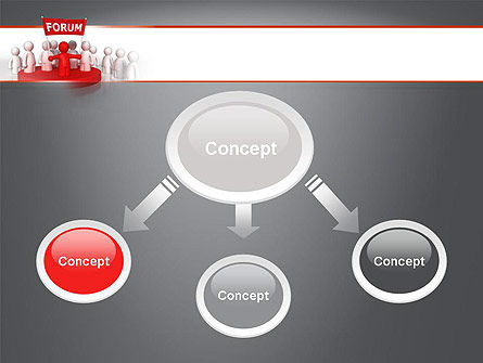 Forum PowerPoint Template, Slide 4, 11580, Careers/Industry — PoweredTemplate.com