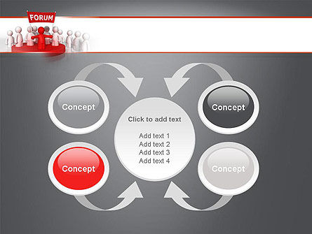 Forum PowerPoint Template Slide 6