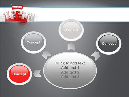Forum PowerPoint Template Slide 7