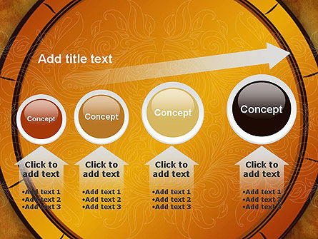 Beautiful Pattern PowerPoint Template Slide 13