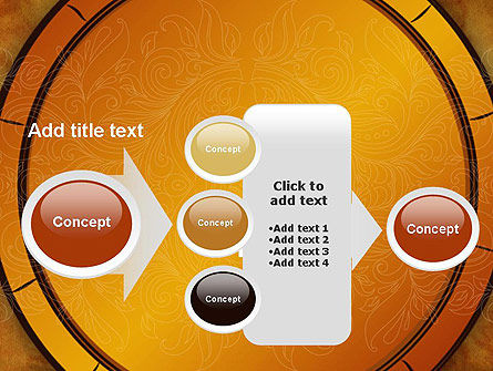 Beautiful Pattern PowerPoint Template Slide 17