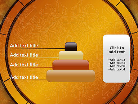 Beautiful Pattern PowerPoint Template Slide 8