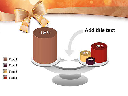 Christmas Bow-knot PowerPoint Template Slide 10