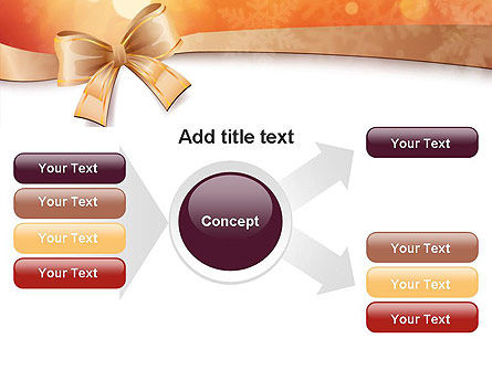 Christmas Bow-knot PowerPoint Template Slide 14