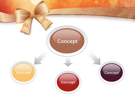 Christmas Bow-knot PowerPoint Template Slide 4