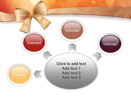 Christmas Bow-knot PowerPoint Template Slide 7